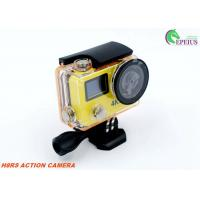 HD 1080P Dual Screen 4k Ultra Hd Sports Camera H8RS XDV With 170° Diagonal Viewing Angle Manufactures