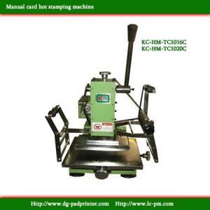 Manual Hot stamping machine Manufactures