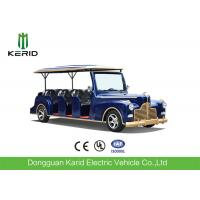New Arrival 11 Seater Electric Vintage Cart 4 Wheel Electric Vehicle Manufactures