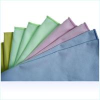 China Microfiber lens cloth on sale