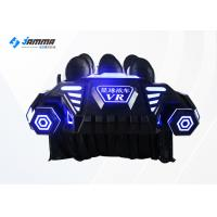 Funny Game Center Virtual Reality Simulator VR Cinema Equipment With Galvanized Steel Frame Manufactures