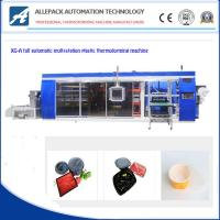 China 810mm Automatic Thermoforming Machine For PP PE BOPS Container on sale