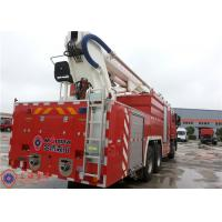 Benz Chassis Water Tower Fire Truck Max Power 320KW Hydraulic System Pressure 20MPa Manufactures