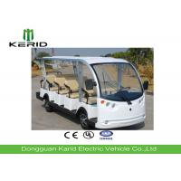 11 Seater Electric Sightseeing Bus With DC Motor Powered For Campus , Villages Manufactures