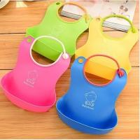 3D new design monster silicone bib for baby for sale