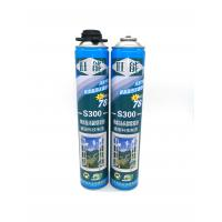 750ml Hard PU Polyurethane Foam Spray With Strong Adhesive Force Manufactures