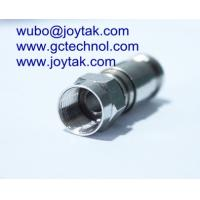 F Compression Connector F Male conenctor For RG6 Coax Cable Satellite TV connector