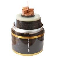 Black XLPE Insulated Power Cable with Aluminum / Copper Conductor Manufactures
