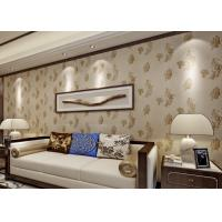 Bronzing Modern Removable Wallpaper with Pottery Natural Crack Manufactures