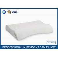 Large Cleaning Memory Foam Massage Pillow For Bed Sleeping , Crescent Shape Manufactures