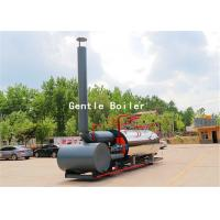 Durable Gas Diesel Oil Fired Steam Boiler Q245R Steel Plate Material Manufactures