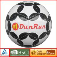 Hot selling Size 4 PVC black and white soccer ball Manufactures