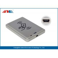 ISO14443A USB RFID Reader For Personal Identification DC 5V Power Supply Manufactures