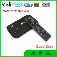 Newest dual core tv box android box DVB S2 hd satellite receiver Manufactures