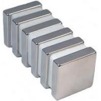 Small Strong Neodymium Radial Magnets Block Coating Ni Manufactures