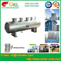 Gas Steam CFB Boiler Drum Water Heat Non Pollution Boiler Equipment Manufactures