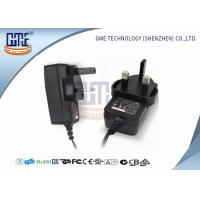 UK Plug Power Adapter , Wall 12 Volt AC DC Adapter ABOUT175g Weight Manufactures