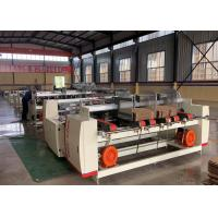 Double Sheets Folder Gluer Machine For Making Corrugated Carton Box Manufactures