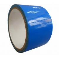 China Natural Rubber Adhesive Blue Cloth Duct Tape For Heavy Duty Packaging SGS ISO on sale
