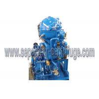 High performance disc starck lube oil / diesel oil / fuel oil separator with  structure