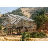 Quality Modernized Design Light Steel Structure Homes Prefab Villa Customized Size for sale