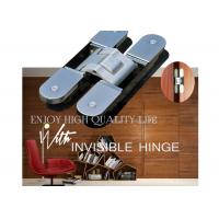 3D Adjustable Conceal German Hinges / 180 Degree Opening Invisible Door Hinges Manufactures