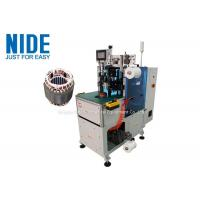 Induction Stator Coil End Automatic Winding Lacing Machine Simple Operation Manufactures