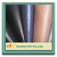 Glitter Leatherette Fabric 0.8MM PU Synthetic Leather Waterproof and Flame Retardant Manufactures