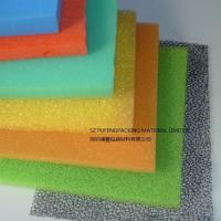 15 / 20 / 25PPI Colored Foam Air Filter Material Low Air Pressure And Low Consumption Manufactures