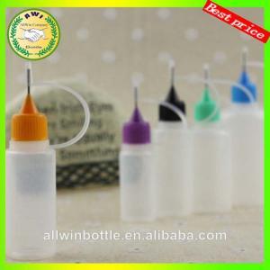 White round 3ml 5ml 8ml 10ml plastic dropper bottle Manufactures