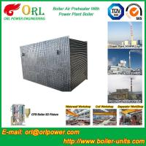 100 T Boiler Part Tubular Air Preheater / APH In Boiler Natural Circulation Manufactures
