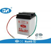 China Conventional Dry Charged 6v Lead Acid Battery ABS Container Acid Resistance on sale