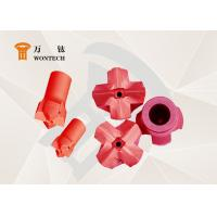 Geological Exploration Taper Button Bit Steel Easy Operation Corrosion Resistance Manufactures