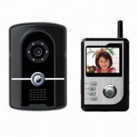 Wireless Video Door Entry System with Built-in Battery and RFID Card Reader Manufactures