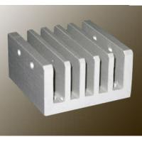 Steel Polished / Electrophoretic Aluminum Heatsink Extrusion Profiles With Fabricating Manufactures