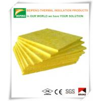 Low moisture glass wool insulation blanket waterproof , fireproof Manufactures