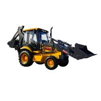 XC870K Heavy Earth Moving Machinery Mini Farm Tractor With Backhoe And Front End Loader Manufactures