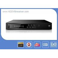 Customized OSD DVB Satellite Receiver Dual USB Support 3G , IKS Share and Multi - CA Manufactures