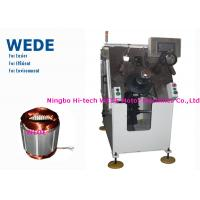 Induction Motor Stator Winding Machine With Top Insulation Paper Auto Insertion Manufactures