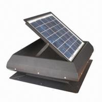 Solar Attic Fan with 15W Manufactures