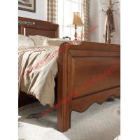 Quality English Country Style Solid Wood Bed in Wooden Bedroom Furniture sets for sale