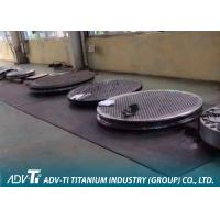 ASTM B265 CNC Titanium Metal Sheets For Tube Type Heat Exchanger Manufactures