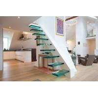 floor Stair thermoformed Glass / Glass steps Manufactures