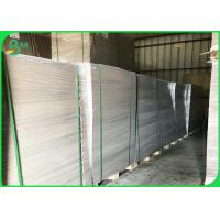 2.0mm 2.2mm 2.3mm Grey Cardboard Sheets , Grey Chipboard Paper For Ring Binders Manufactures