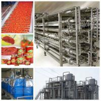 China Tomato Tin Canned Beverage Manufacturing Equipment 15 - 20 Cans / Minute on sale