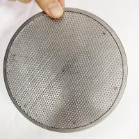 High Temperature Resistant Stainless Steel Extruder Screen Mesh For Plastic Recycling Manufactures