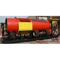 Trommel Ore Washing Machine , Mobile Gold Wash Plant Using Less Water Manufactures
