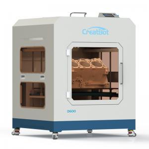 Metal Frame Creatbot High Resolution 3D Printer Large Build Volume 0.05mm Presicion Manufactures