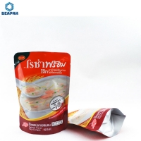 China Cooked Food Aluminium Foil Stand Up Retort Packaging Pouch on sale