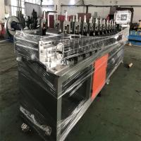 China 0.3-0.8mm Galvanzied Coils Stud Track Roll Forming Machine with 3 ton hydraulic de-coiler on sale